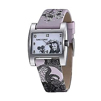 Time Force Analog Quartz Watch Child with Leather Strap HM1007
