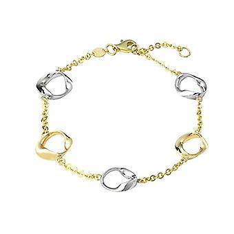 Amor - Kvinners armbånd, gull 375 tofarget
