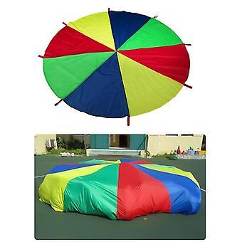 Kulplu Çocuk Paraşüt Oyuncağı Paraşüt Çadırı Oynuyor