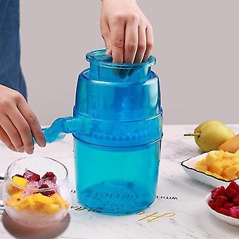 Hushåll Mini Manuell iskross Kall dryck Gör verktyg