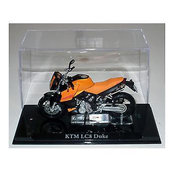 KTM LC8 Duque Diecast modelo moto