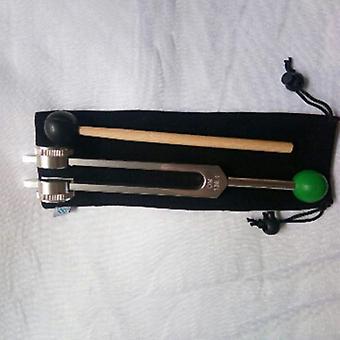 Tuning Gabel, Hz gewichtet - mit Buddha Perlenbasis für ultimative Heilung und