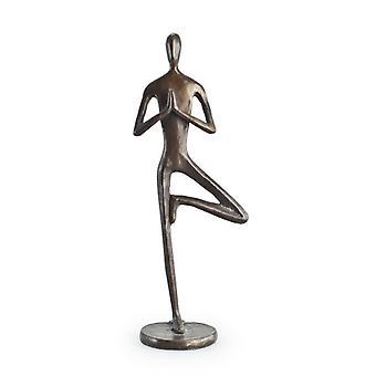 Yoga Tree Bonze Sculpture