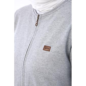 Zippered Emblem Detailed Abaya