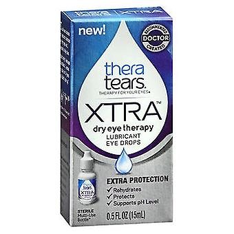 Theratears TheraTears Extra Dry Eye Therapy Voiteluaine Silmätipat, 0,5 Oz