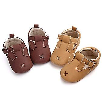 Save Beautiful Infant Unisex Baby Warm Cotton Slippers Anti-Slip Soft Sole Cute Cartoon First Walkers Shoes