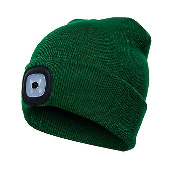 Beanie Hat With Light Unisex Usb Rechargeable Beanie Cap With Light Headlamp Beanie