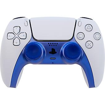 Dual sense controller styling kit (includes faceplate & thumb grips) - shock blue (ps5)