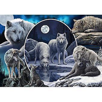Schmidt Lisa Parker: Magnificent Wolves Jigsaw Puzzle (1000 Pieces)
