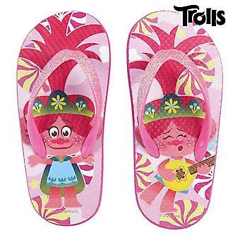 Flip Flops for Children Trolls Fuchsia