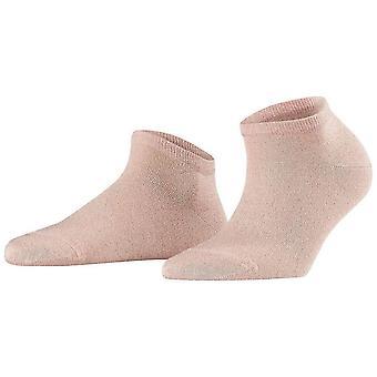 Falke Shiny Sneaker sukat-kukka vaaleanpunainen