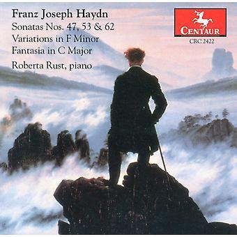 J. Haydn - Piano Sonatas #47,53 & 62 [CD] USA import