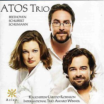 Beethoven/Schubert/Schumann - Atos Trio Plays Beethoven, Schubert & Schumann [CD] USA import