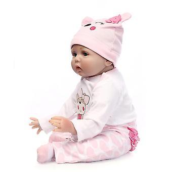 Soft Vinyl Silicone 22 Inch Handmade Baby Doll