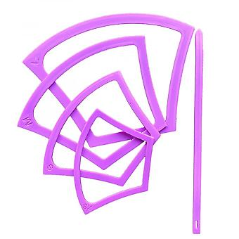 4pc Reusable Mask Templates/pattern For Diy Masks With Elastic Tool Xs-l
