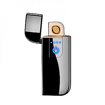 Electronic Sensor Lighter Usb Rechargeable Windproof Lighter For Cigarettes Candles Kitchen