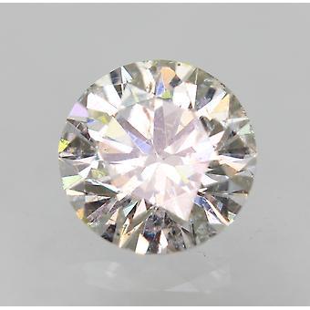 Sertifioitu 0,31 karat F VS2 pyöreä brilliant parannettu luonnollinen löysä timantti 4,38mm