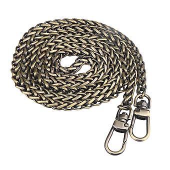 Wallet chains 47.24inch iron antique brass cross body handbag chains strap repair part