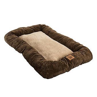 Precision Pet Mod Chic Bumper Bed - Café - Caisses 36» (Animaux 70 lbs)