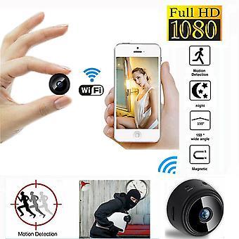 Mini kamera WiFi IP Hálózat Home Security HD 1080P DVR IR Éjjellátó