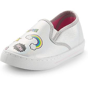 K KomForme Toddler Adidași pentru fete Slip Pe Mocasini & Moccasins Lazy Pantofi pentru copii
