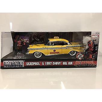 Deadpool Taxi et Figure 1:24 Échelle Jada 30290