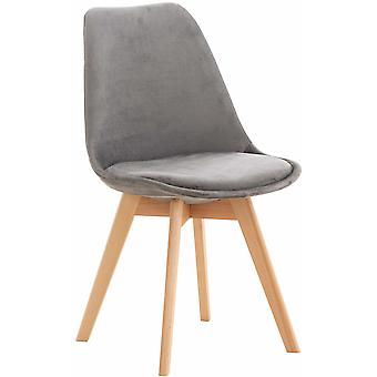 Esszimmerstuhl - Esszimmerstühle - Küchenstuhl - Esszimmerstuhl - Modern - Grau - Holz - 49 cm x 50 cm x 83 cm