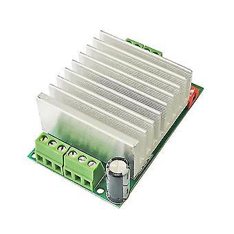 Tb6600 4.5a stepper motor driver distribution information line board controller 6n137 dc 10v-45v