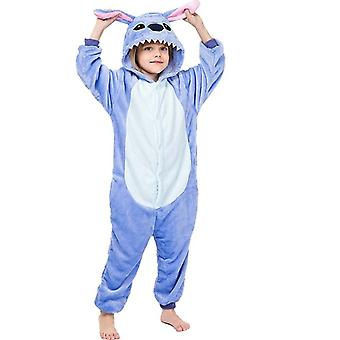 Blue Stitch Kinder Einhorn Panda Pyjamas Tier Cartoon