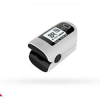 Ujjbegy pulzus oximéter véroxigén telítettség monitor szilikon fedéllel és akkumulátorokkal