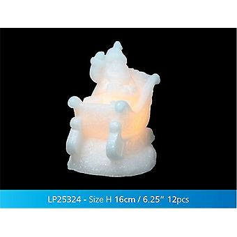 Decoratieve licht van Kerstmis Magic Led slee Xmas Gift Ornament