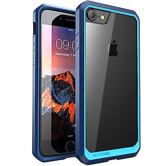 SUPCASE-iPhone 7 Case,Unicorn Beetle Series,Premium Case-Frost/Blue