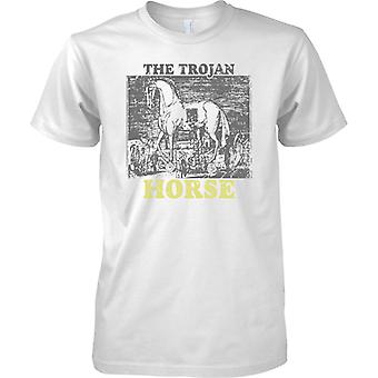El caballo de Troya - inspirado de la guerra de Troya - para hombre T Shirt
