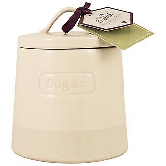 Englisch Geschirr Co. Artisan Zucker Kanister, Creme