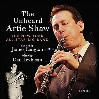 Levinson*Dan / New York All-Star Big Band - Unheard Artie Shaw [CD] USA import
