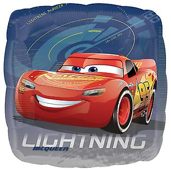 Anagram Disney Cars 3 18 Inch Lightning McQueen Square Foil Balloon