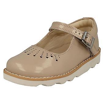 Flickor Clarks skor Crown hopp