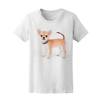 Chihuahua Puppy Studded Collar Tee Women's -Image by Shutterstock