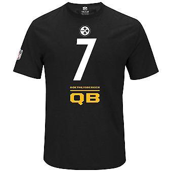Majestic NFL shirt – Pittsburgh Steelers QB Ben Roethlisberg