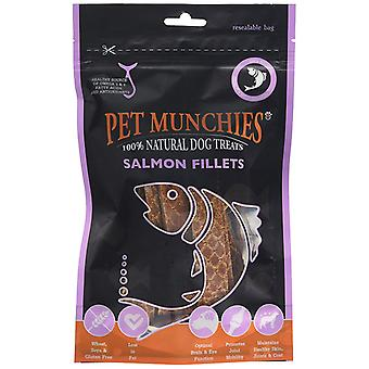Pet Munchies  Natural Dog Treats Salmon Fillets