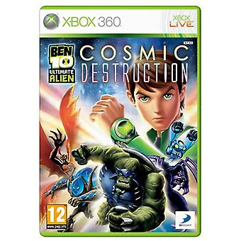 Ben 10 Ultimate Alien Cosmic Destruction (Xbox 360)-nieuw