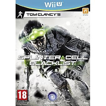 Tom Clancys Splinter Cell Blacklist - Standard Edition (Nintendo Wii U) - New