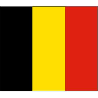 Belgium Flag 5ft x 3ft With Eyelets For Hanging