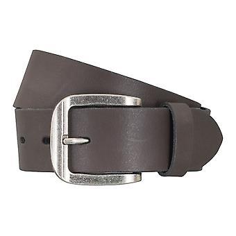LLOYD Men's belt belts men's belts leather belt Brown 5046