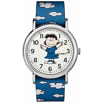 Timex blau Armband Lucy TW2R413006B Uhr
