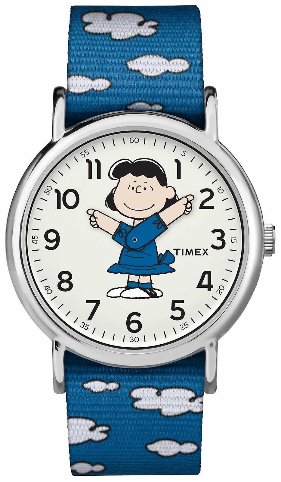 Timex Blue Strap Lucy TW2R413006B Watch