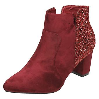 Ladies Anne Michelle Mid Heel Ankle Boots F50690
