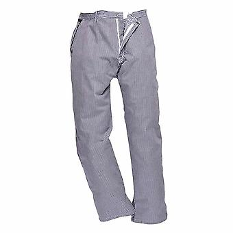 sUw Mens Barnet High Temperature Cotton Chefs Trousers