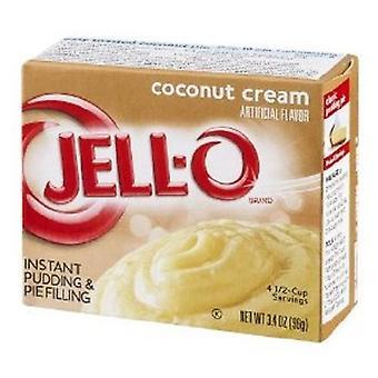 Jell-O Coconut Cream Instant Pudding Dessert Mix