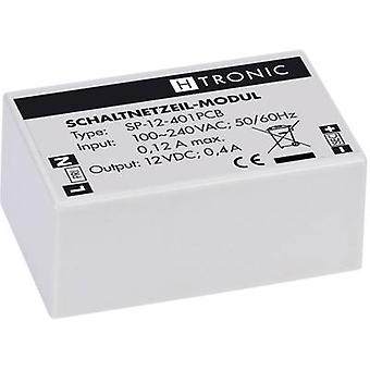 AC/DC PSU (print) H-Tronic SP-12-401PCB 12 V DC 0.4 A 4.8 W